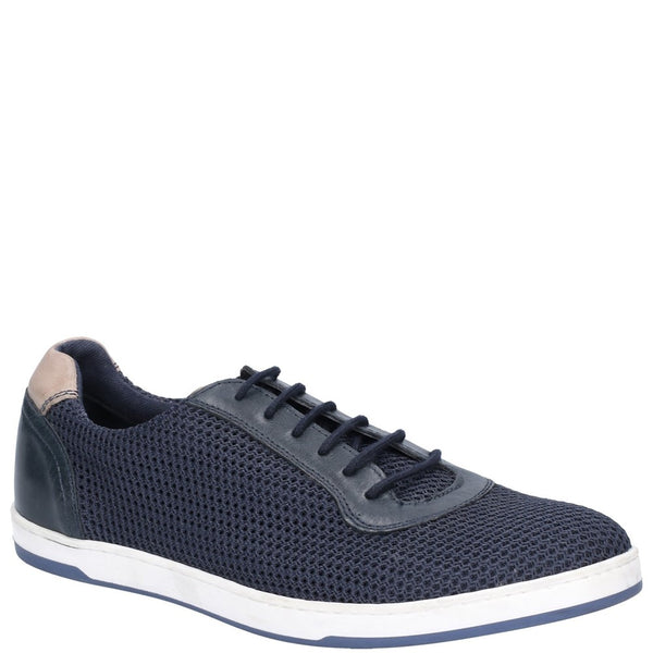 Base London Hustle Mesh Lace Up Trainer