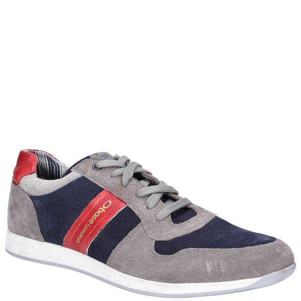 Base London Eclipse Suede Lace Up Trainer