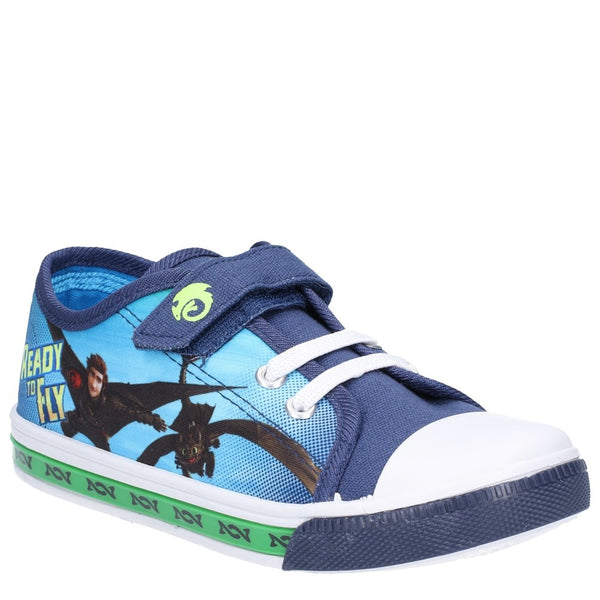 How to Train Your Dragon Low Sneakers touch fastening shoe