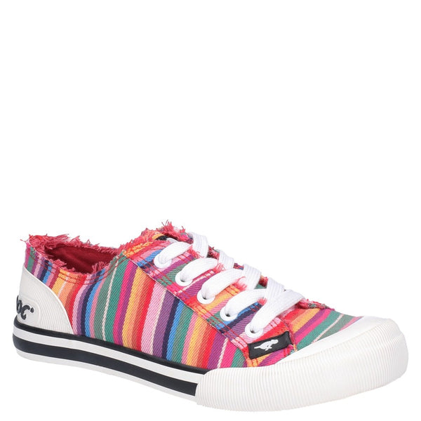 Rocket Dog Jazzin Eden Stripe Lace Up Beach Shoe