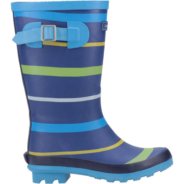 Cotswold Stripe Wellington Boot