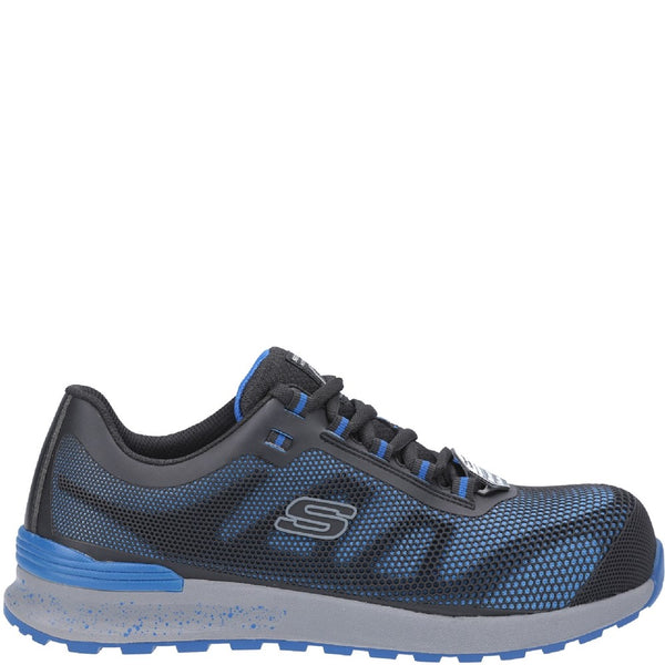 Skechers Bulklin Lace Up Safety Shoe