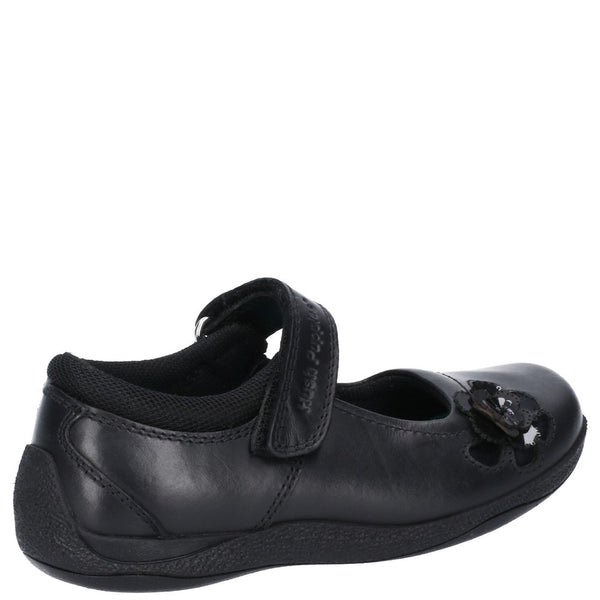 Hush Puppies Jessica Snr Touch Fastening School Shoe