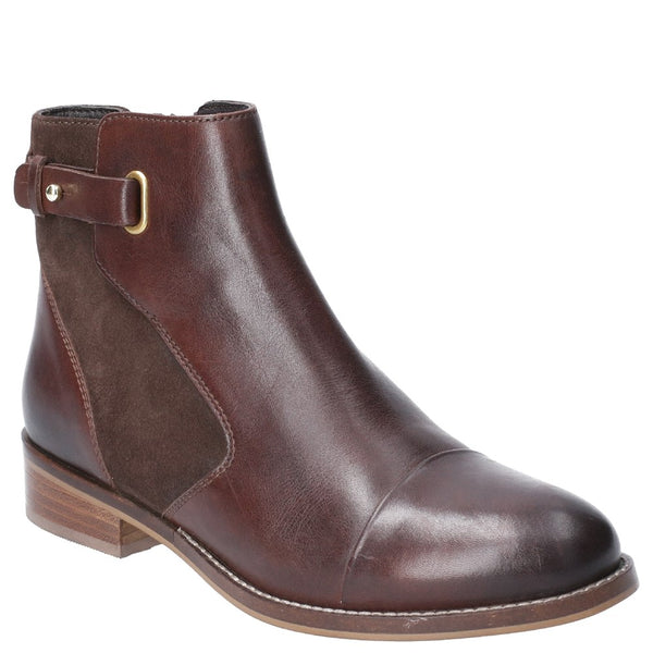 Hush Puppies Hollie Zip Up Ankle Boot