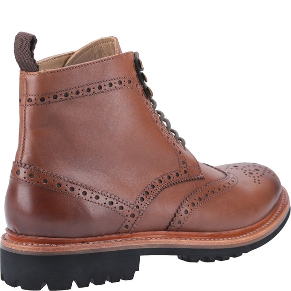 Cotswold Rissington Commando Goodyear Welt Lace Up Boot