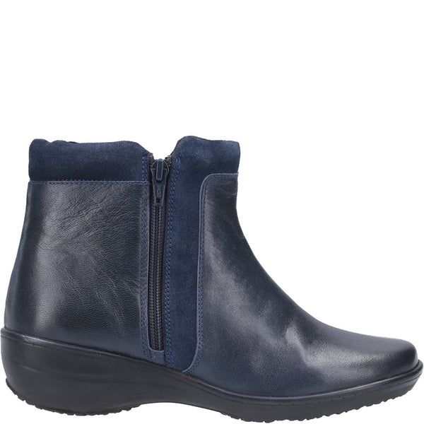 Fleet & Foster Mona Zip Ankle Boot