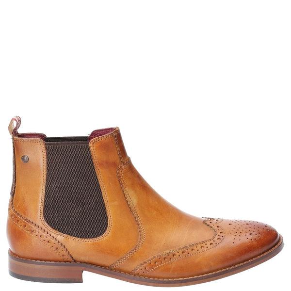 Base London Gaffer Washed Pull On Chelsea Boot