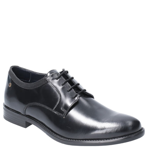 Base London Nero Hi Shine Lace Up Shoe