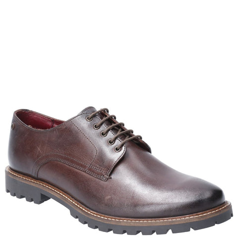 Base London Hogan Washed Lace Up Shoe