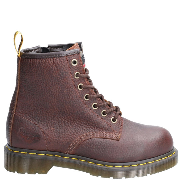 Dr Martens Maple Zip SB Lace Up Safety Boot