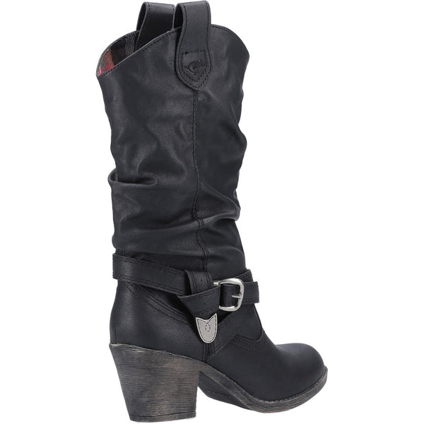 Rocket Dog Sidestep Mid-Calf Western Boot