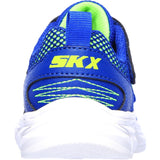 Skechers Advance-Intergrid Touch Fastening Strap Trainer with Two Layer Mesh Upper