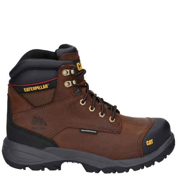 Caterpillar Spiro Lace Up Waterproof Safety Boot