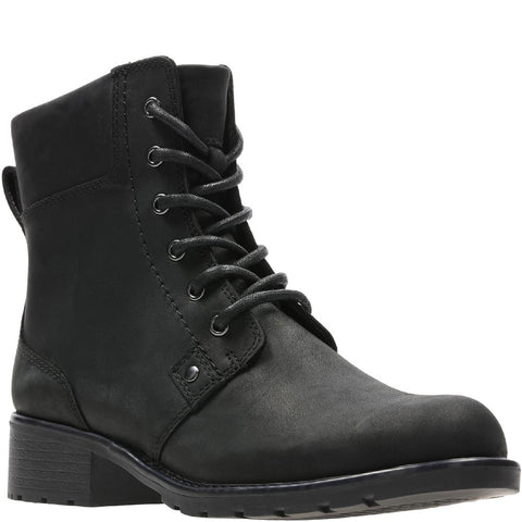 Clarks Orinoco Spice Lace Up Biker Boot