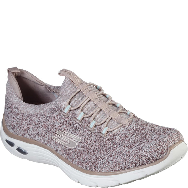 Skechers Relaxed Fit Empire D'Lux Sharp Witted Slip On Sports