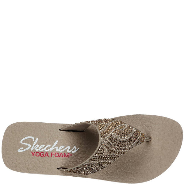 Skechers Vinyasa Stone Candy Slip On Toe Post