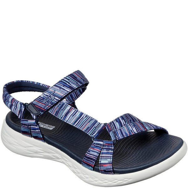 Skechers On The Go 600 Electric Velcro Sandal