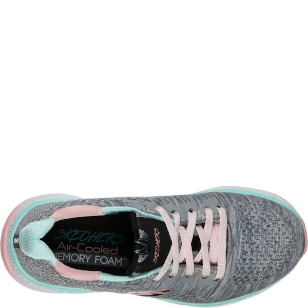 Skechers Solar Fuse Brisk Escape Lace Up Trainer