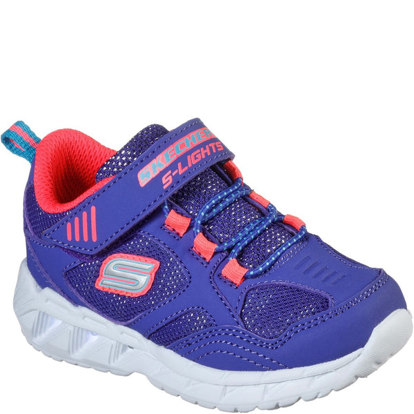 Skechers S Lights Magna-Lights Expert Level Touch Fastening Trainer