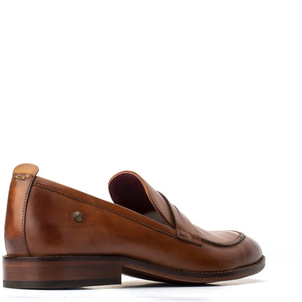 Base London Lens Washed Slip On Loafer