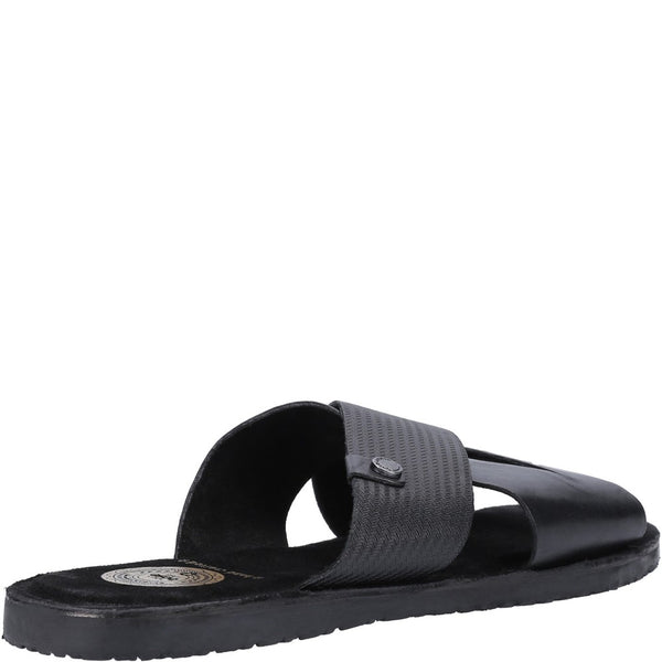 Base London Alecco Waxy Emboss Sandal