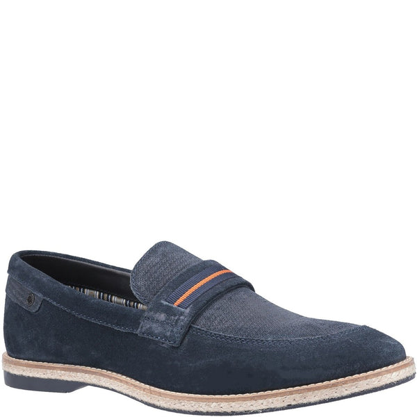 Base London Kinsey Suede Slip On Loafer