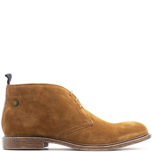 Base London Jasper Suede Lace Up Boot