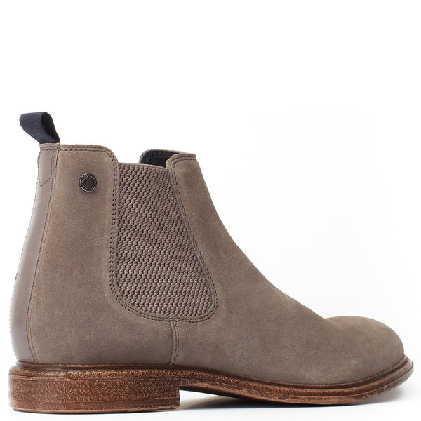 Base London Flint Suede Pull On Chelsea Boot