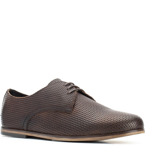 Base London Senna Emboss Lace Up Shoe