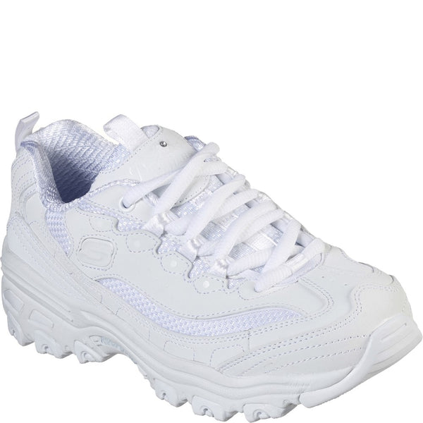 Skechers D'Lites Color Chrome Lace Up Girls BTS