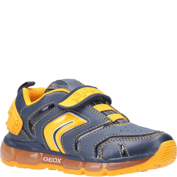 Geox J Android Boy B Touch Fastening Trainer