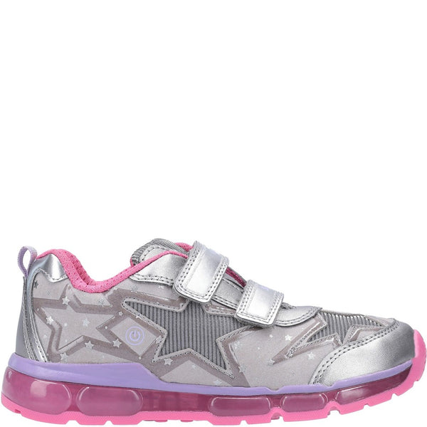 Geox J Android Girl B Touch Fastening Trainer