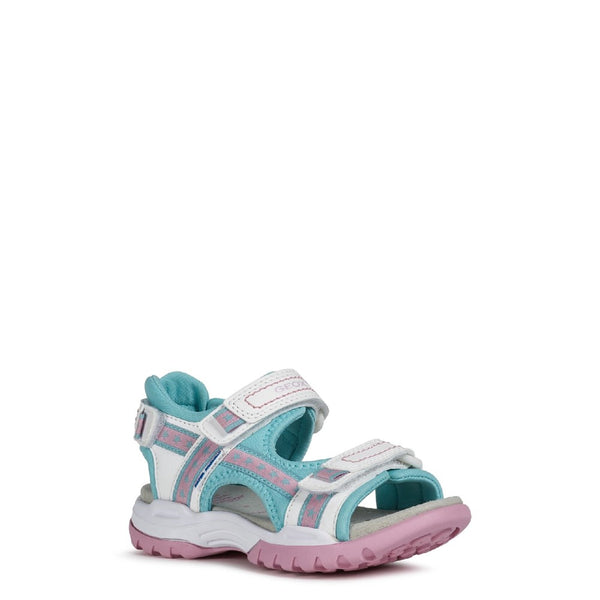Geox J Borealis Girl A Touch Fastening Sandal