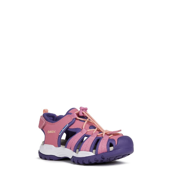 Geox J Borealis Girl B Lace Up Sandal