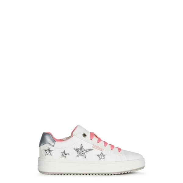 Geox J Rebecca Girl B Lace Up Trainer