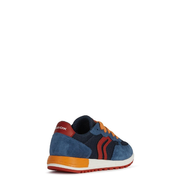 Geox J Alben Boy D Lace Up Trainer