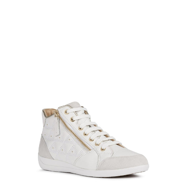 Geox D Myria B Lace Up Trainer