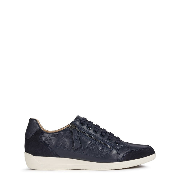 Geox D Myria C Lace Up Trainer