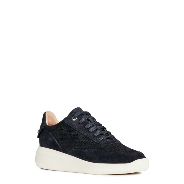 Geox D Rubidia A Lace Up Trainer