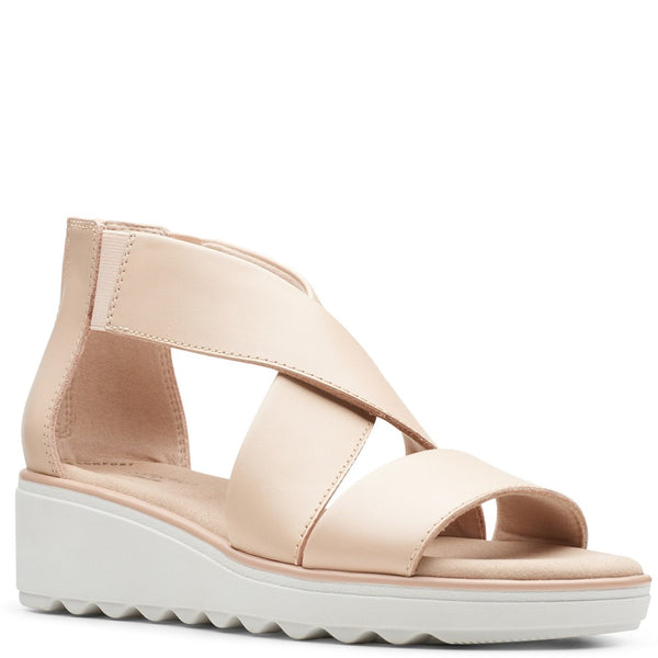 Clarks Jillian Rise Ladies Wedge Sandal
