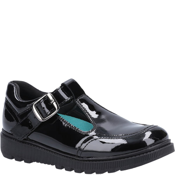 Hush Puppies Kerry Patent Junior School Shoe