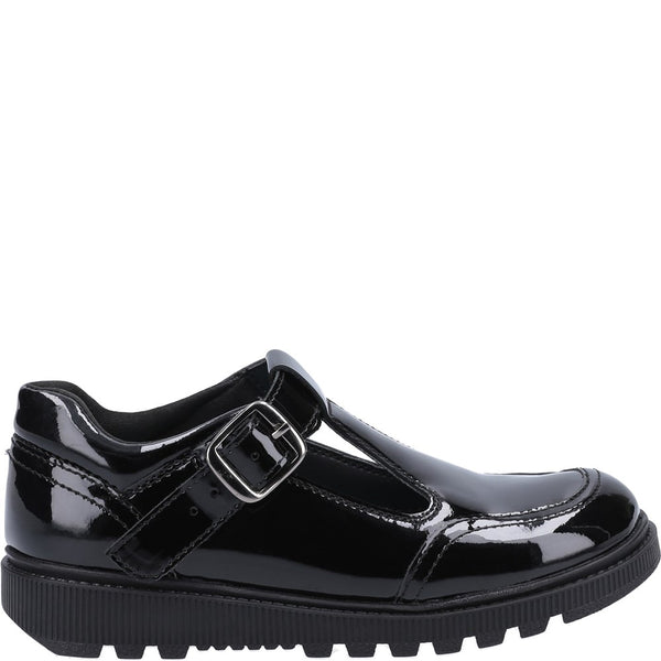 Hush Puppies Kerry Patent Senior School Shoe