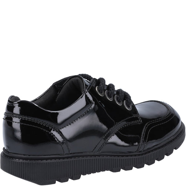 Hush Puppies Kiera Junior Patent School Shoe