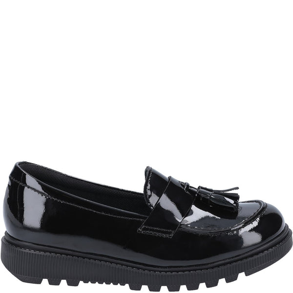 Hush Puppies Karen Junior Patent School Shoe