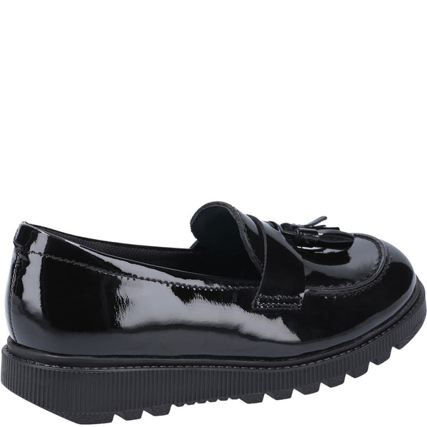 Hush Puppies Karen Senior Patent School Shoe