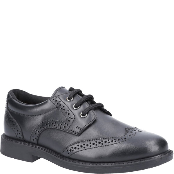 Hush Puppies Harry Junior School Shoe
