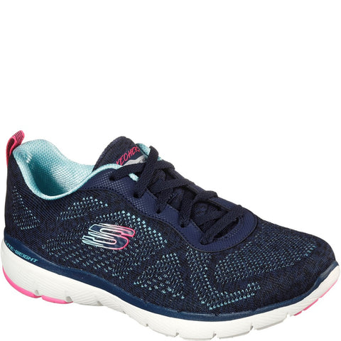 Skechers Flex Appeal 3.0 High Goals Sports Trainer