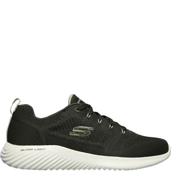 Skechers Bounder Rinstet Lace Up Trainer