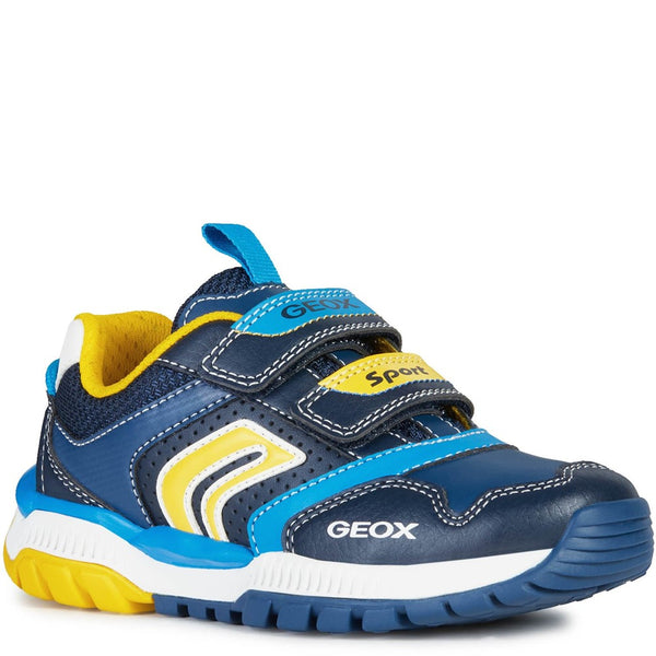 Geox Tuono Boy Touch Fastening Shoes
