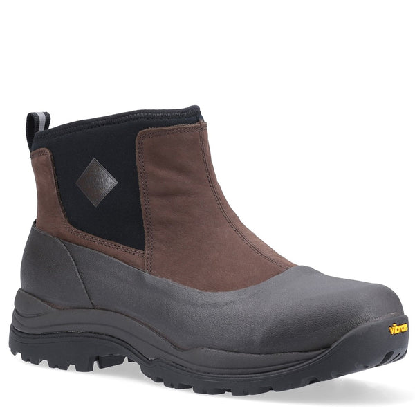 Muck Boots Arctic Outpost Leather Vibram Grip Ankle Boots